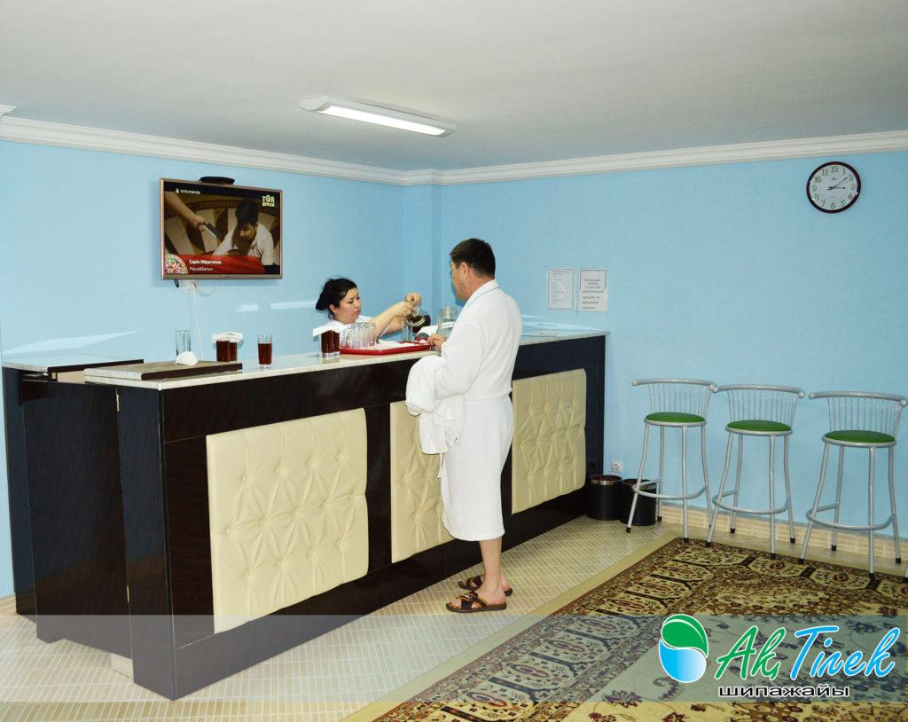 Санаторий Ак тилек в Сарыагаше