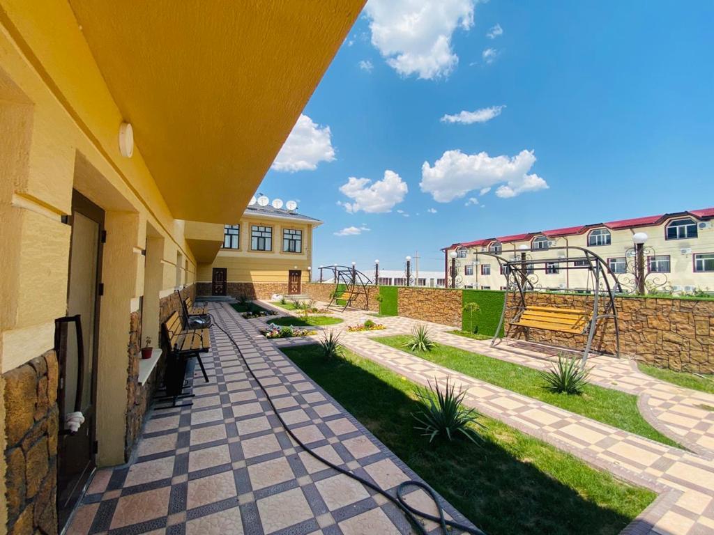 Санаторий Ердаулет в Сарыагаше